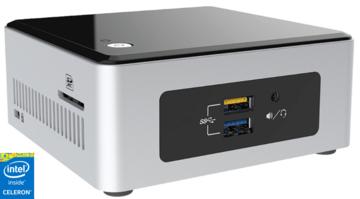 Intel Celeron Nuc -  240GB SSD - 4Gb DDR-3 (Tijdens de  bestelprocedure heeft u de keuze uit extra opslag & andere opties!)