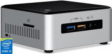 Intel core I3 Nuc - 240GB SSD - 4Gb DDR-4 (Tijdens de bestelprocedure heeft u de keuze uit extra opslag & andere opties!)